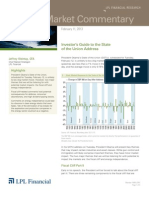 Weekly Market Commentary 2/11/2013