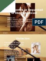 Delitos Contra La Seguridad y La Libertad Sexual