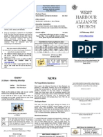 WHAC Newsletter - 10 February 2013