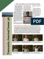 Tanzania Project Child Newsletter - February