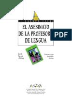 Asesinato de La Profesora de Lengua