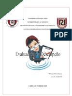 Evaluacion de Desempeño PDF