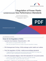Clean Air Act Regulation of Power Plants
