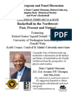 Basketball in the Northwest With Slick Watts