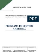 Programa de Control Ambiental