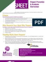DRopout facts.pdf