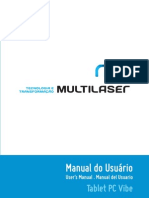Manual Tablet Multilaser