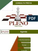 Presentacion Consulta Previa Seminario Pleno Enero 2013