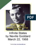Neville Goddard PDF - Infinite States