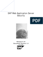 SAP Web Application Server Security 6.1