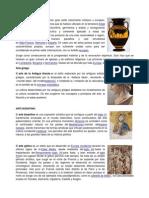 Arte Griego, Romanico, Bizantino, Gotico
