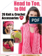 From Head to Toe Young to Old 26 Knit and Crochet Accessories eBook