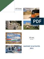 Rapport d'activités 2011 RCP