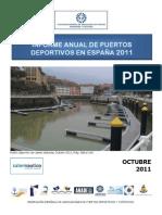 informe anual puertos españa 2011