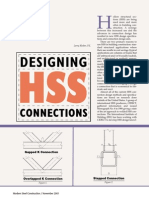 Designing HSS Connections