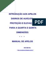 INTRODUÇÃO AOS APELOS DIÁRIOS DE AUXÍLIOS, PROTEÇÃO E ELEVAÇÃO PARA A QUARTA E QUINTA DIMENSÕES  - Manual de Apelos