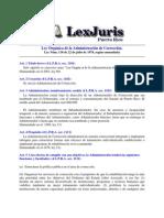Ley 116 Orgánica de la Administración de Corrección