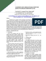 Pengenalan Huruf Jawa dengan Learning Vector Quantization