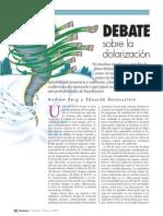 C-8 [2] Debate de La Dolarizacion Berg Borensztein