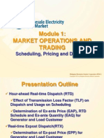 Module 1 WESM Trading and Operations Final PDF