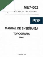 Ejercito Manual de Topografia del Ejercito Español