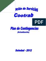 PLAN DE CONTINGENCIAS ESTACIÓN DE COMBUSTIBLE