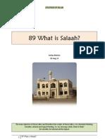089 What is Salaah?