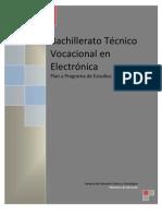Plan de Estudios Bachillerato en Electrónica