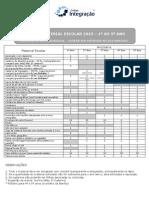 Lista Material 1ao5ano