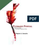 PLUMANG PUNYAL Mga Tula at Dagli Na Pinatalim Ang Puno't Dulo