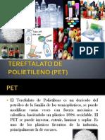 Tereftalato de Polietileno (Pet)