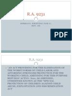 RA 9231 p. point