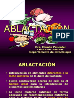ABLACTACIÓN