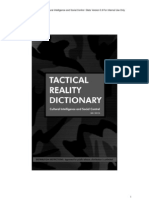 Tactical Reality Dictionary