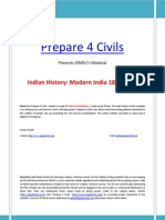 IGNOU s Indian History Part 1 Modern India 1857 1964