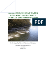 Medford Regional Water Reclamation Facility Outfall Assessment Study