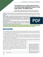 Obesidad, inervencion padres. J Ped 2011.pdf