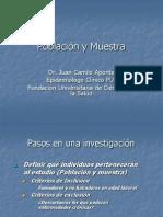 5. Población y Muestra