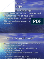 Complications Chemotherapy