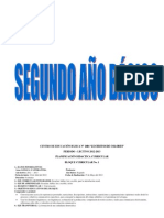 PLNIFICACION DE SEGUNDO AÑO DE BASICA