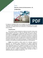 Gestión de Almacenes  - Gestión de Flujo de Materiales
