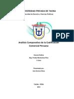 Análisis Comparativo Legislación Comercial