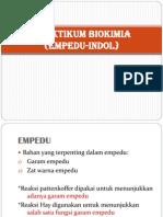 Praktikum Biokimia Empedu-Indol
