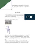 construcción de una antena Biquad