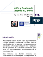 Implementacion SGA ISO 14001 JCUb-2008