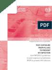 Post-exposure Profilaxis HIV