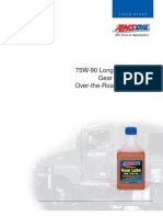 AMSOIL 75W90 Long Life Synthetic Gear Lube - Field Study