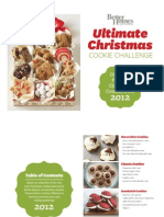2012 BHG Christmas Cookie Challenge Winners