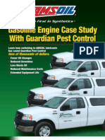 AMSOIL Synthetic Oil - Gasoline Engine Case Study With Guardian Pest Control