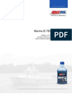 AMSOIL HP Marine 2-Cycle Oil - Marine ETec Field Study